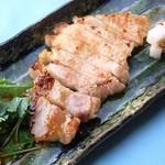 ろくまる 五元豚 - 豚ロースの塩麹漬けグリル
