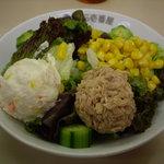 カレーハウスCoCo壱番屋 - 2007/12:カレー待つ間にツナコーンポテサラ