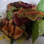 306565 - サーモン腹身のサラダ バルサミコ風味