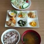 アグリファームレストラン - 料理写真:気まぐれset 600円 メニューは日替わりです なくなり次第終了※写真はイメージです