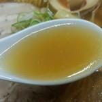 煮干鰮らーめん 圓 - スープ