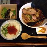 食堂居酒屋 風来坊 - 料理写真:ランチ(ラーメン&ミニいくら丼セット)