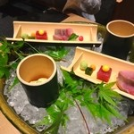30606975 - 【2013.04】お造り八寸 大皿盛り