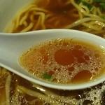 味もり多 - 2014年9月 ラーメン大のスープ