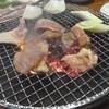 焼肉安寿若 - 料理写真:七輪で焼きます