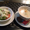 鉄板焼ステーキハウス 四季 - 料理写真:ステーキにはスープとサラダ、パンorライスが付きます