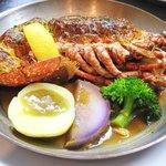 ビストロ ロカマドゥール - 一番人気の定番メニュー「オマール海老とアイオリのグラティネ」