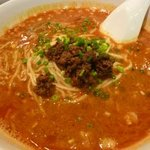 明蘭餐庁 - 担々麺