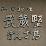 武蔵野 - 看板。