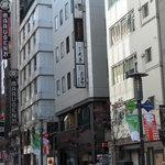 武蔵野 - 店は天亭と同じビルの一階です。