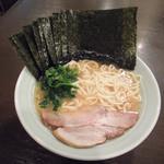 六角家 - ラーメン+海苔
