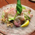 Yumekicchin - 生ハムとベーコンのサラダ