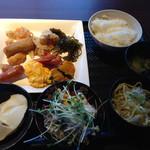 大地の恵 - この日の朝食