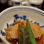 桜井甘精堂 泉石亭 - 蔬菜(あをもの)煮物(にもの)