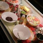 暖龍 - ミニパフェ用フルーツバー