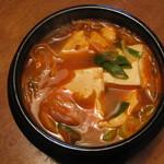 宇李 - 豆腐チゲ