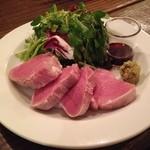 豚ヒレ肉の低温調理 わさび醤油