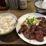 利助 - 牛ハラミ定食(900円)