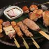 jidoriyakimikuriya - 料理写真:手打ちの比内地鶏の焼鳥