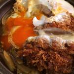 いばら - 豚ヒレカツ卵とじ鍋