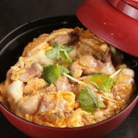 地鶏焼 味くり家 - 親子丼