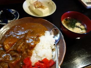 焼きや - 特製チキンカレー(¥600税込み)ランチです、この他にアイスコーヒー付きます。
