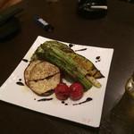 30619812 - 秋野菜のグリル!                       久しぶりに野菜の美味しさに気付かされた一品でした。