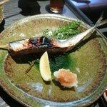 聖護院 - いろり焼き(糠漬け 秋刀魚)