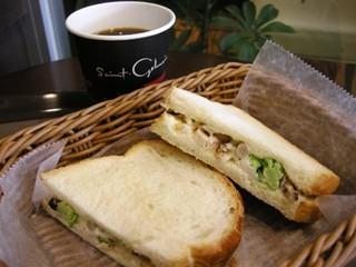 サンジェルマン エキア志木店 - トーストサンドとコーヒー