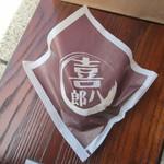 喜八郎 - 喜八郎 牛まんの包装状態
