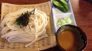 水香苑 - ざるうどん(800円)