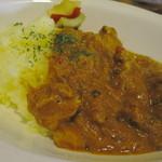 フキヤ - ホロホロチキンとレンズ豆のスパイスカレー