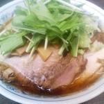 熊王ラーメン - 醤油チャーシュー麺大盛 ナシ
