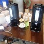 ジェットストリーム - ランチタイムに食事をしたら、珈琲・紅茶が+110円でおかわり自由
