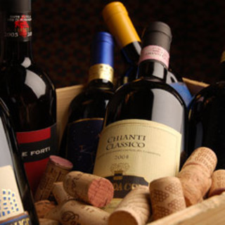 種類豊富なワインをお楽しみください!