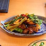30634764 - 豚バラと米茄子の味噌田楽ソテー