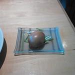 食楽工房 李居ど - トッピング燻製煮玉子100円