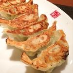 ちりめん亭 - 野菜サーギョー、大蒜が容赦ない