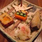 30636630 - かりゆし前菜プレート(700円)