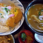 Sobadokoroyamashina - カツ丼セット・カレーうどん付き