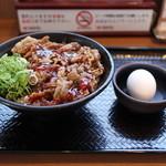 カルビ丼とスン豆腐専門店 韓丼  - 温玉カルビ丼☆