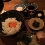 野菜バーる31 - 卵かけご飯♪( ´▽`)
