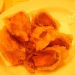 3064254 - 大好きな鴨のスモークと柿のフリット
