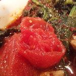 木多郎 - トマト カットしてみました