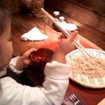 手打蕎麦かとう - 子どもにもお勧めのカウンター