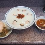 味の萬楽 - チャーシュー粥