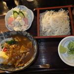 30643142 - ランチ カレー丼セット 700円 【 2014年9月 】