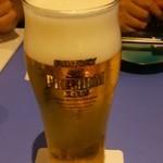 海三昧 おさしみ家 - (9/12)生ビール