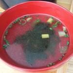 ごはん ごはん - セットのスープ