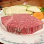 30649085 - 田子牛ヒレ定食3000円